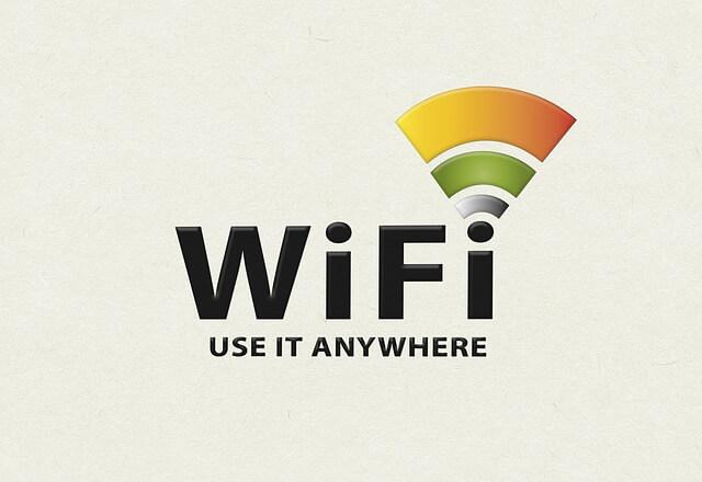 wifiマーク接続画面
